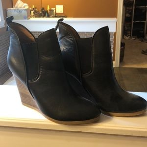 Coach Farah wedge booties